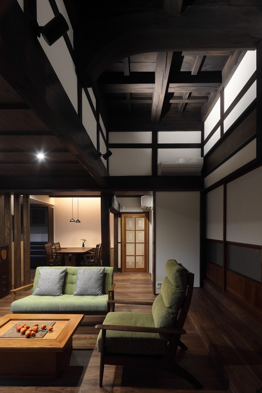 京丹後の民家 (居間)