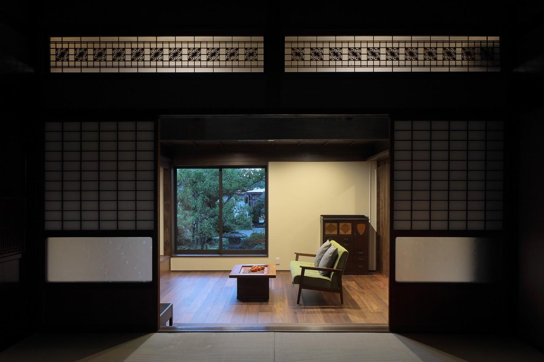 リビングダイニング事例:居間(京丹後の民家)