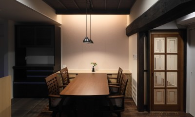 京丹後の民家 (食堂)