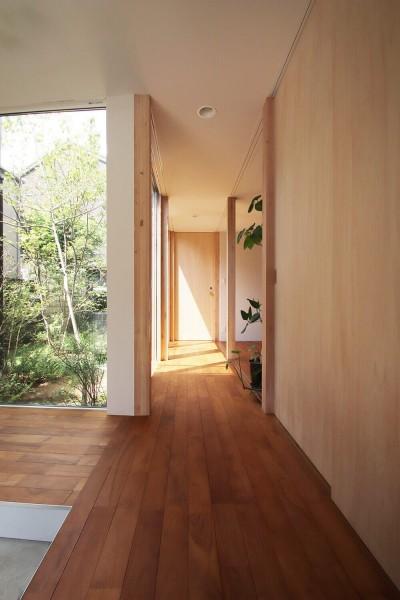 廊下 (杉並区の戸建て住宅)