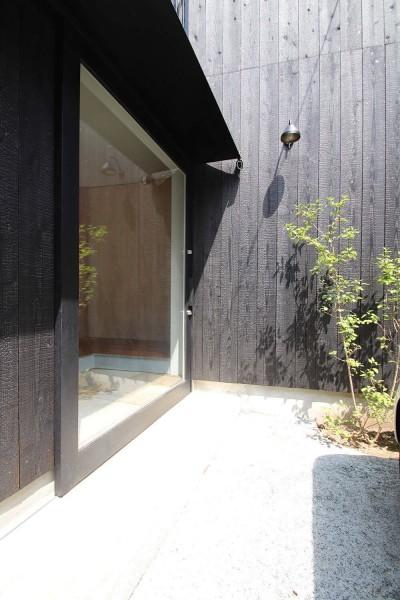 杉並区の戸建て住宅 (外観)