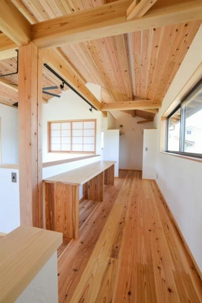 2階フリースペース (小鳥遊の家)