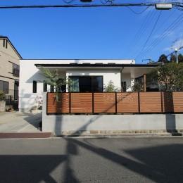 2階建てから平屋へ 大きく減築した戸建てリノベーション 【FLAT HOUSE】