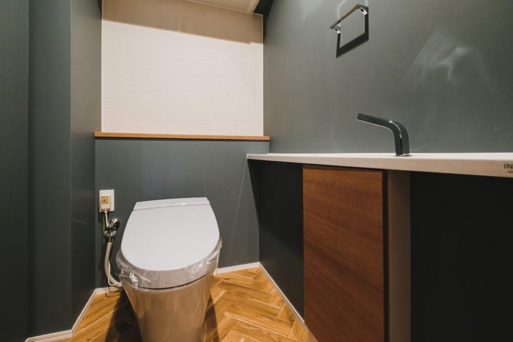魅せる空間リノベーション (トイレ)
