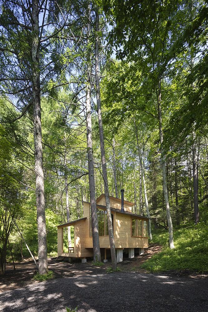 森の小屋/とっておきの時間を過ごすための小さな居場所 (外観全景)