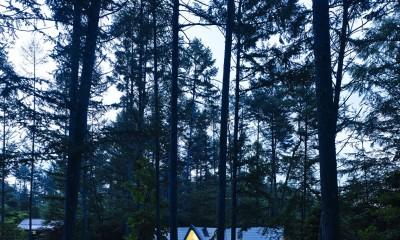 安曇野の山荘