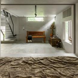 土間と左官の家 (寝室)