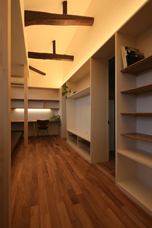2階リビング (川崎の3世代住宅リノベーション)