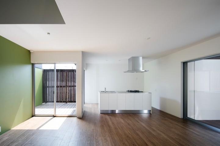 戸建て感覚で住む賃貸住宅 (緑のお部屋)