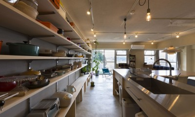 日本初のコーポラティブハウスを紡ぐ (キッチン)