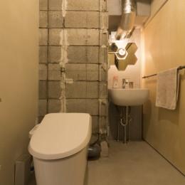 日本初のコーポラティブハウスを紡ぐ (トイレ)