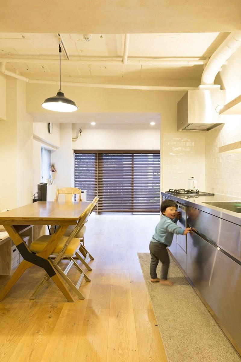 家族とともに、成長していく家 (ダイニング・キッチン)