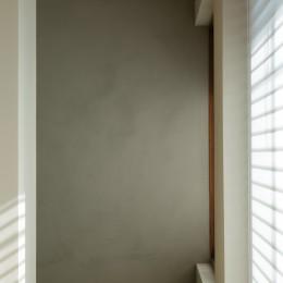 上質な質感に包まれた光と風・風景を楽しむ家 (和室2)