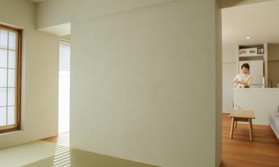上質な質感に包まれた光と風・風景を楽しむ家 (和室3)