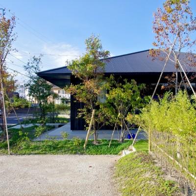 竹の山の家 (焼き杉の家)