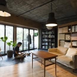 視覚的効果の高い、回遊する家