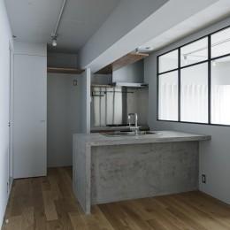 眺めのいい家 (キッチン)
