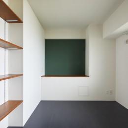 CAFE time ~ 爽やかカフェのようなリノベーション空間 (ベッドルーム)