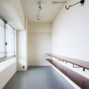 CAFE time ~ 爽やかカフェのようなリノベーション空間の写真 エントランス(側面)