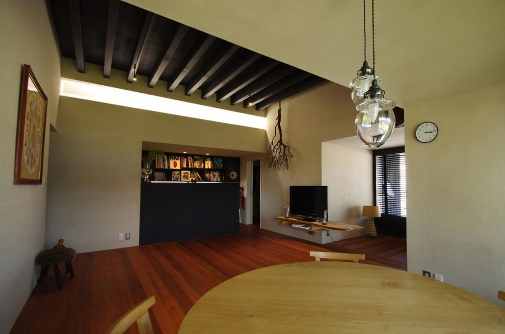 竹の山の家 (リビングダイニング)