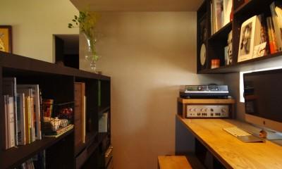 趣味コーナー・男の書斎|竹の山の家