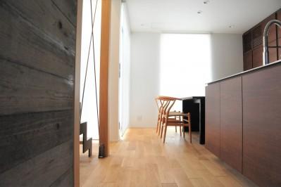 Landscape-house (ダイニング・キッチン)