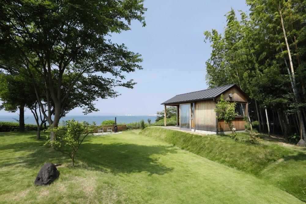 外観 (海を望む小屋~家族や友人と食事を楽しむための小屋~)