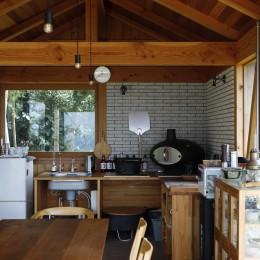 海を望む小屋~家族や友人と食事を楽しむための小屋~ (ミニキッチン)