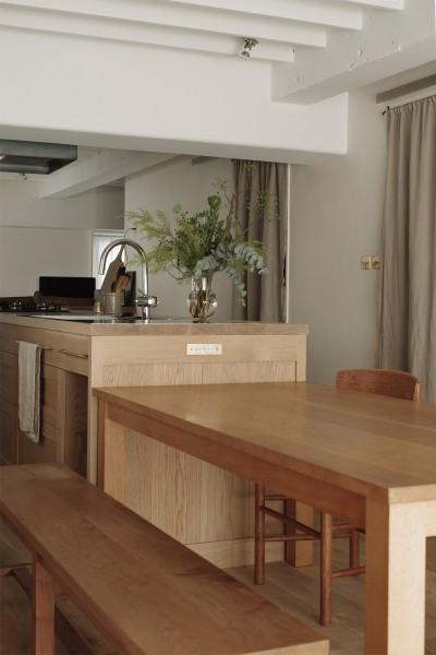ダイニングキッチン (House I/マンションリノベーション)