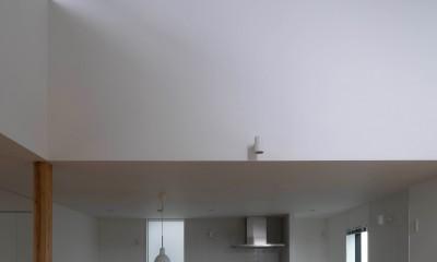 八王子の家 (リビングダイニング)