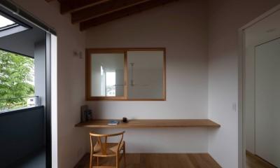 八王子の家 (書斎)
