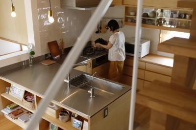 キッチン (心休まる家~この家に居るとなんだかホッとする安らぎの家~)