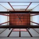 湖西の弁柄の住まいの写真 食堂天井