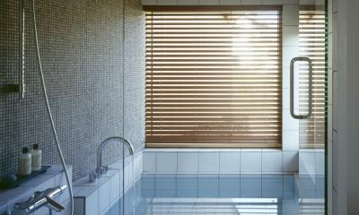 バスルーム|VILLA BOOMERANG / 八ヶ岳の別荘