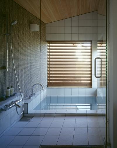 バスルーム (VILLA BOOMERANG / 八ヶ岳の別荘)