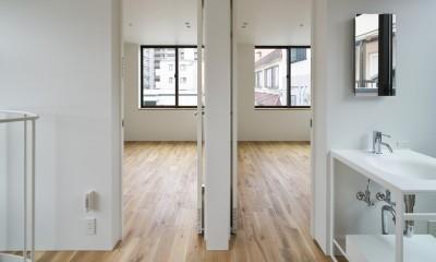 本駒込の家 (3階の子供部屋)
