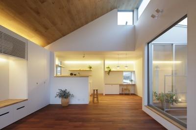 木の温かみのある2世帯住宅 ( 関町北の家 ) (子世帯LDK)