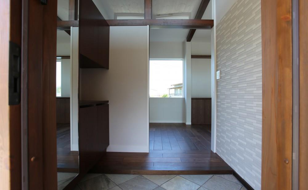 伏竜の家 (玄関)