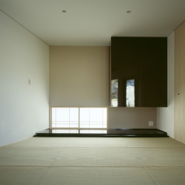 VILLA BOOMERANG / 八ヶ岳の別荘 (和室兼寝室)