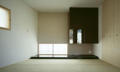 和室兼寝室|VILLA BOOMERANG / 八ヶ岳の別荘