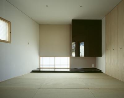 和室兼寝室 (VILLA BOOMERANG / 八ヶ岳の別荘)