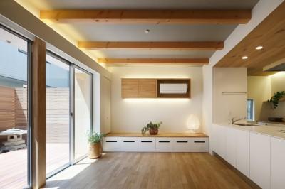 親世態LDK・テラス (木の温かみのある2世帯住宅 ( 関町北の家 ))