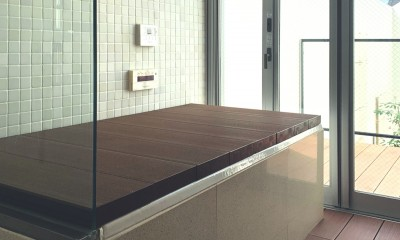 キッチンを中心に (浴室)