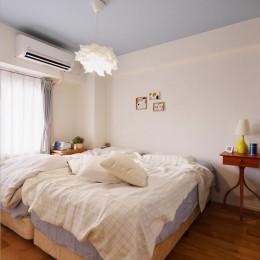K様邸_Hygge ~やわらかな光と自然素材に包まれて~ (寝室)