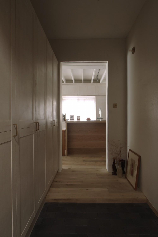 House I/マンションリノベーション (玄関)