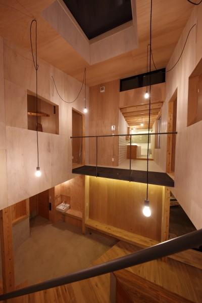 秋川の家 (吹抜け)