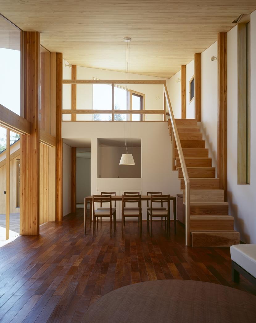 VILLA BOOMERANG / 八ヶ岳の別荘の部屋 リビングダイニング