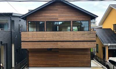 柏の家2(回遊する家)