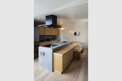 キッチン (松戸の家4(FLAT HOUSE))