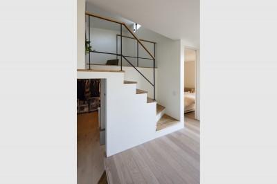 階段 (松戸の家4(FLAT HOUSE))